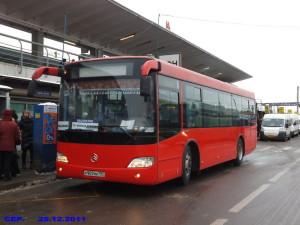 автобус южные ворота