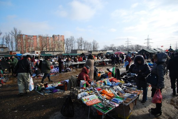 Блошиный рынок Левша в Новоподрезково 5