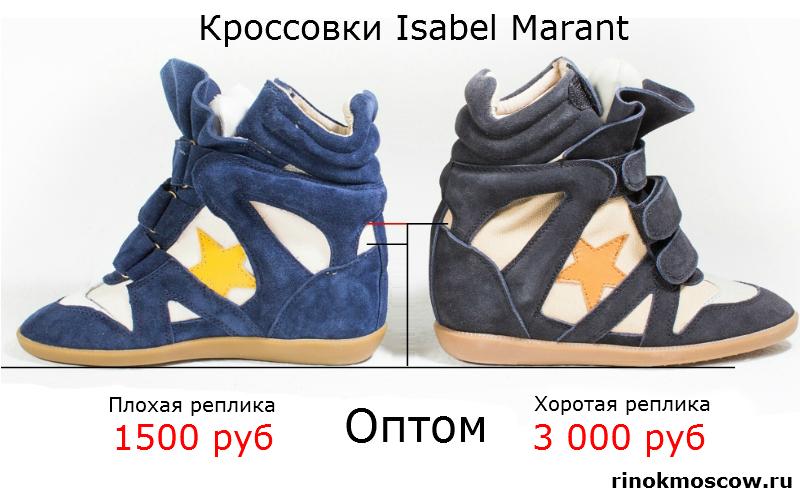 оптовые цены на рынках Isabel Marant