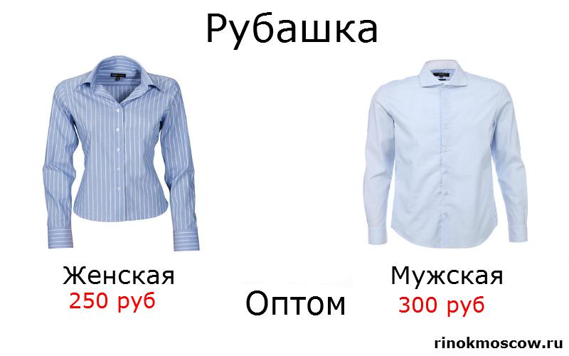 оптовые цены на рынках рубашка