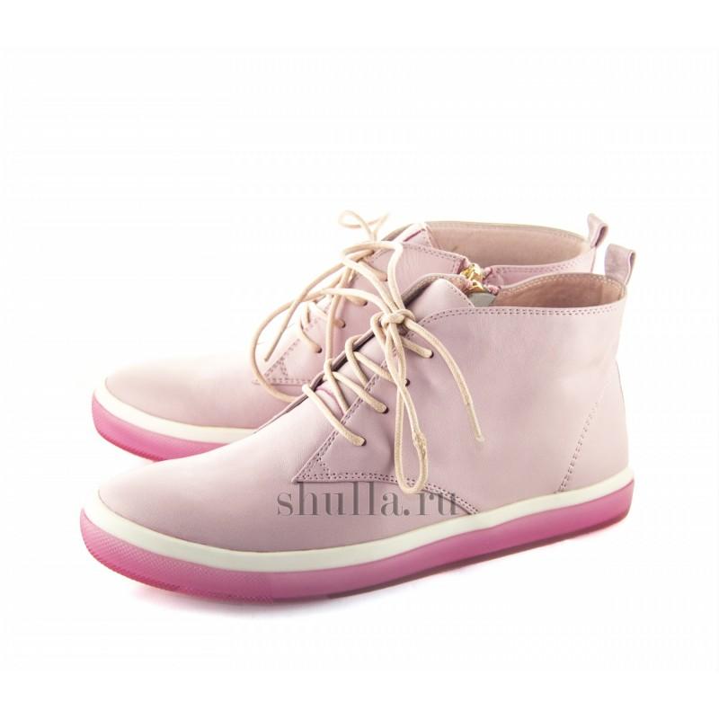 0056 женские розовые кожаные ботинки (1)-800x800