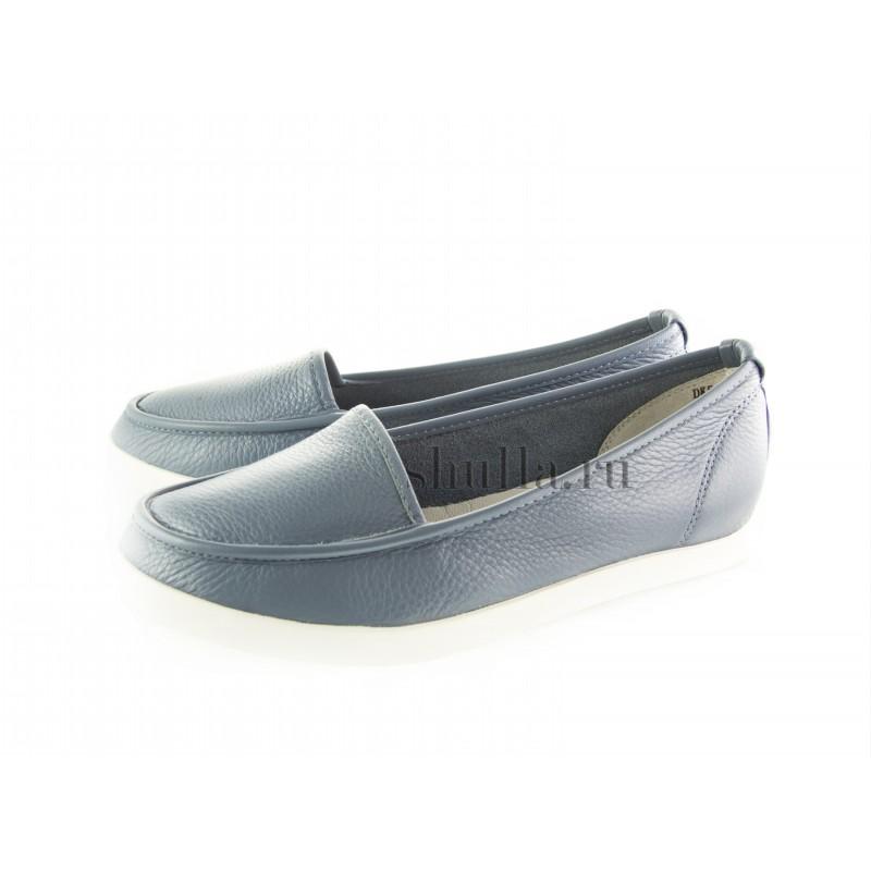 0970 женская обувь, женские голубые кожаные мокасины (1)-800x800