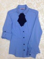 Блузки для девочек тк Садовод стр. 65 Линия 25 павильон 40 Image