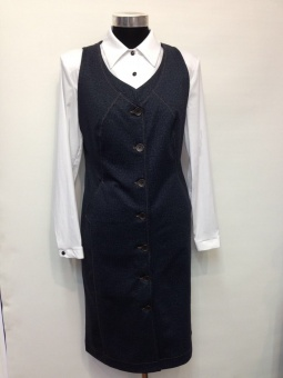 Оптом женские блузки, сарафаны и туники. ТЦ Садовод 14 Image