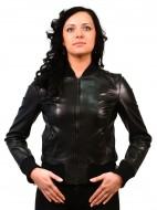 Женские осенние кожаные куртки. ТК Дубровка 8/226 Image